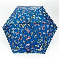 Faye UK Ltd. Eco-Chic Foldable Compact Manual Mini Umbrella Durable Butterflies