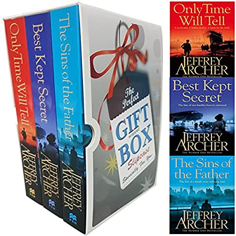 Jeffrey Archer Clifton Chronicles Trilogy Collection 3 Books Box Set (Only Time Will Tell, The Sins Of The Father, Best Kept