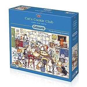 Gibsons - Puzzle de Galletas de Gato (500 Piezas)
