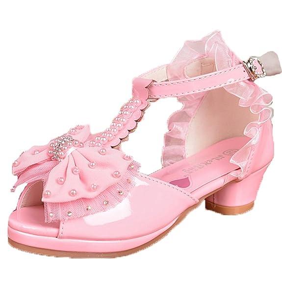 OPSUN Sandales Chuaussures princesse Enfants Filles Ballerines à bride  Chaussure Cérémonie Mariage Escarpin Babies: Amazon.fr: Chaussures et Sacs