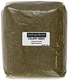 JustIngredients Essential Selleriesamen, Celery Seeds, 2er Pack (2 x 1 kg)