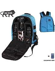 Brain Freezer J DSLR/SLR Camera Lens Shoulder Backpack Case for Canon Nikon Sigma Olympus Camera (Exotic Blue)