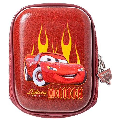 Disney DYCBCA1 Arkas Car Hartschalen Tasche mit Reißverschluss für Kamera/Apple ipod/Handy rot Apple Ipod Rot