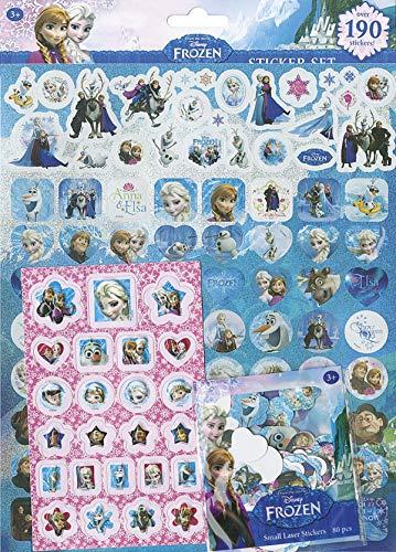 Set 190 Pegatinas. Frozen
