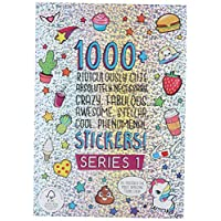 Fashion Angels 1000 Ridiculously Cute Stickers, Multicolor