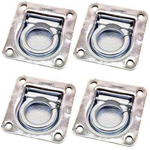 Recessed Tie Down / Lashing Eye / Ring / Anchor PACK of 4 TR082 Test