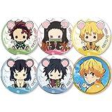 cluis Anime - Spilla Demon Slayer Kimetsu no Yaiba, spilla per cosplay di bottoni di cartoni animati, 5,8 cm