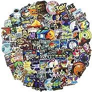 Cartoon Laptop Stickers for Kids|100 Pack|, Cool Teen Children Girls Halloween Gift, Water Bottle Travel Case