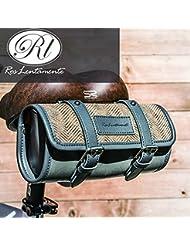 Bazaar Ros de tige de selle sac de sac arrière de bicyclette de vélo de siège de la selle le sac d'épaule