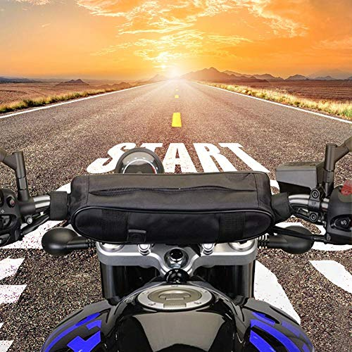 Borsa da manubrio anteriore da motocicletta Borsa da viaggio a tracolla per bicicletta da viaggio impermeabile con tracolla a tracolla