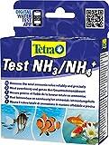 Tetra Test NH3/NH4 (Ammoniak) (Wassertest für Süß- und Meerwasseraquarien, misst zuverlässig und genau den Ammonikawert)