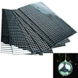3000Pcs 5mm regelmäßige Spiegel- Mosaiksteine Spiegelmosaik silber DIY Deko