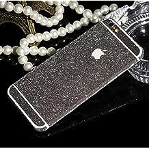 WeShop® - Bling Bling avant et arrière Protector Stickers Pour iPhone6 4,7 pouces gris foncé
