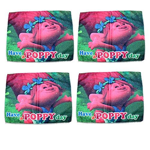 Lot de 4 Dreamworks trolls Poppy Gants 40 x 31 cm