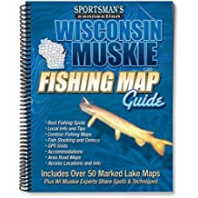 Wisconsin Muskie Fishing Maps Guide Book (Fishing Maps from Sportsman's Connection)