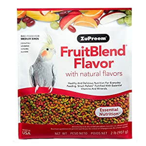 Zupreem Fruit Blend for Medium Birds, 907 g