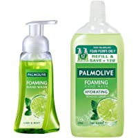 Palmolive Hydrating Foaming Hand Wash, Lime and Mint - 250ml Pump with Palmolive Hydrating Foaming Hand Wash, Lime and…