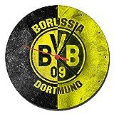 Borussia Dortmund BVB Wanduhren Wall Clock 20cm