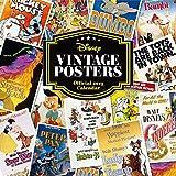 Disney Classic vintage Posters 2019Calendrier mural officiel carré Calendrier avec l'organisation de stickers Bundle