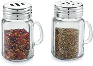 Dynore Stainless Steel Spice Shaker, 150 ml, 2-Piece, Silver
