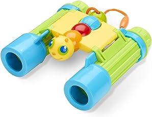 Melissa & Doug Sunny Patch Giddy Buggy Binoculars Toy, Multi Color