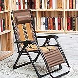 LCTCDD Chaise de gravité zéro surdimensionnée, chaise longue de terrasse, fauteuil...