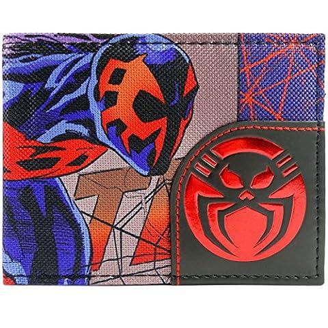 Marvel Spider-Man 2099 Zeichen und Logo Mehrfarbig Portemonnaie Geldbörse (Spiderman Kostüme Designs)