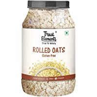 True Elements Rolled Oats, Gluten Free Oats, High in Fibre and Protein 1200gm