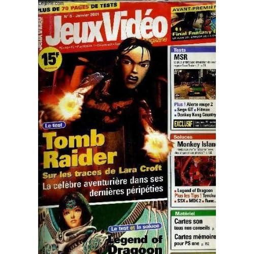 JEUX VIDEO N°6 - JANVIER 2001.