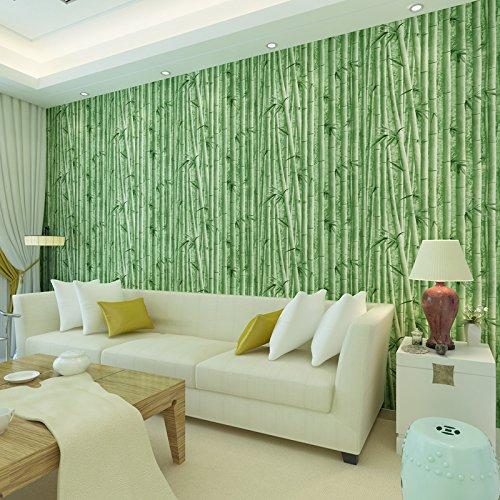 VanMe Bambù Cinese Camera Da Letto Soggiorno Studio Autoadesiva Impermeabile Sfondo Parete Parete Decorativa Adesivo Di Carta