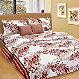 Cortina Cotton Double Bedsheet with 2 Pi...