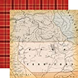 "New! Cowboy Country Double-Sided Cardstock 12""X12""-Out West - Case Pack of 25"