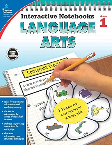 Language Arts, Grade 1 (Interactive Notebooks)