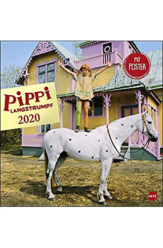 Descargar gratis Pippi Langstrumpf Broschurkalender 2020 de Heye