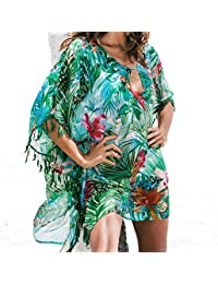 Reasonable 2019 Hot Sale Summer Sleeveless Beach Womens Floral Printed Chiffon Coat Tops Blouse Cover Up Bathing Suit Bikini Body 4sg Swimming Sports & Entertainment