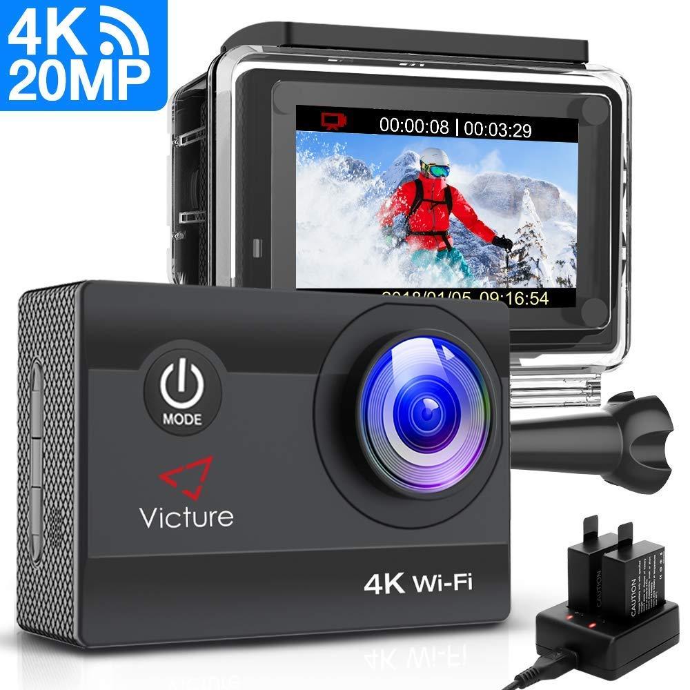 Comprar Victure Cámara Deportiva WiFi 4k Ultra HD 20MP Cámara de