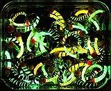 20Mixed Glow in the Dark lummies Fliegenfischen Fliegen S151–12(ohne Widerhaken)