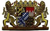 Bügelaufnäher Wappen Freistaat Bayern
