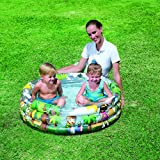 Bestway 51039 - Planschbecken Jungle Trek, 102 x 25 cm -