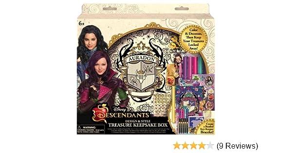 Disney Descendants Design /& Style Treasure Keepsake Box by Innovative Designs SG/_B0130RYIHK/_US