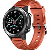 LATEC Smartwatch Orologio Fitness Tracker Impermeabile IP68 Smart Watch Touch Rotondo Cardiofrequenzimetro da Polso Contapass