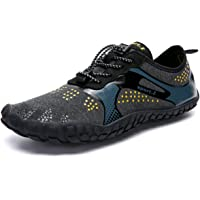 Ansbowey Water Shoes Mens Ladies Barefoot Quick-Dry Lightweight Shoes for Beach Walking, Stream Trekking, Swimming Pool…