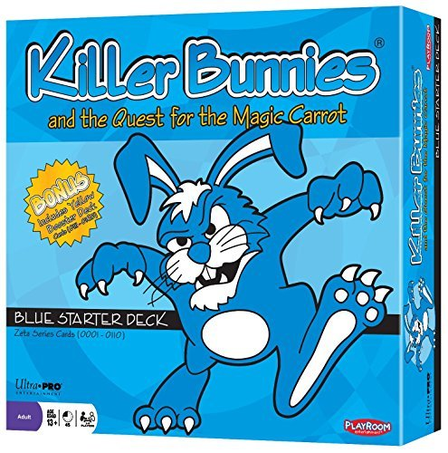 Killer Bunnies & The Quest For The Magic Carrot Blue Starter Pack