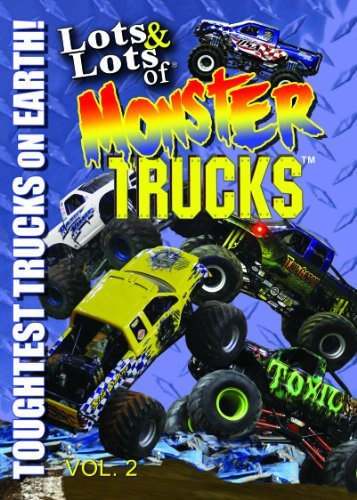 Lots & Lots of Monster Trucks DVD Volume 2 - Toughest Trucks on Earth by Monster Trucks - Monster-truck-dvd