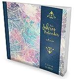 GOCKLER® 3 Jahres Kalender: 190+ Seiten Journal für 3 Jahre || Glänzendes Softcover || Ideal als Tagebuch, Terminplaner, Notizkalender oder Tagesplaner || DesignArt.: Edle Ornamente