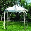 Ersatzdach Pavillon Burma weiss 300cm rund PVC von sonstige - Gartenmöbel von Du und Dein Garten