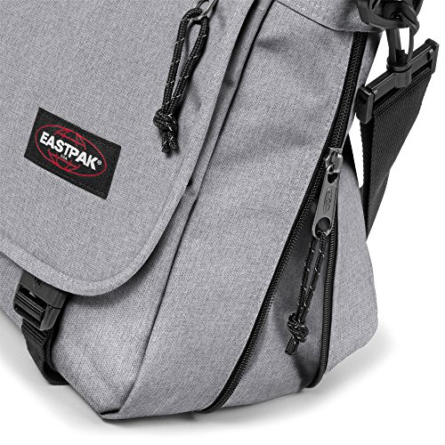 Eastpak Borsa Messenger, unichecks pink (Rosa) - EK07663B Grigio (Sunday Grey)