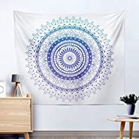 India Mandala Flower Geometry pattern Home Tapestry Wall Hanging Beach Towel, 7, 200 * 150cm