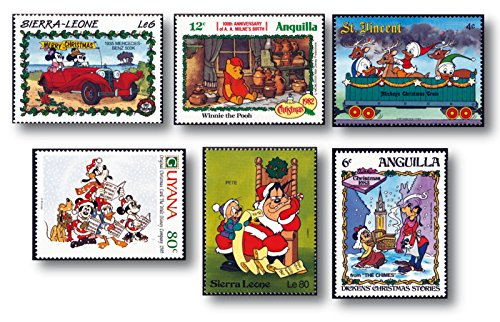 Briefmarken 50 (50 verschiedene Briefmarken 'Walt Disney' |Briefmarken |postfrisch |gestempelt |verschiedene Länder)