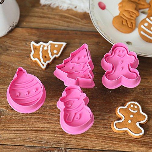 Stampi Per Dolci Di Natale.Vitutech Decorazioni Biscotti Per Natale Formine Per